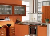 Tủ bếp bằng gỗ ghép KEB-006